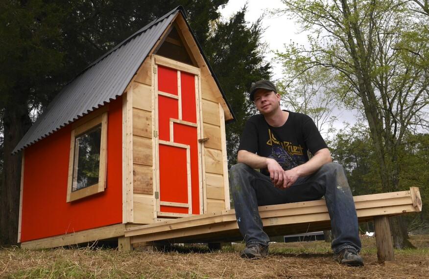 "Derek ""Deek"" Diedricksen, Microshelters author and tiny home builder."