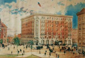 Lafayette Hotel in color 2