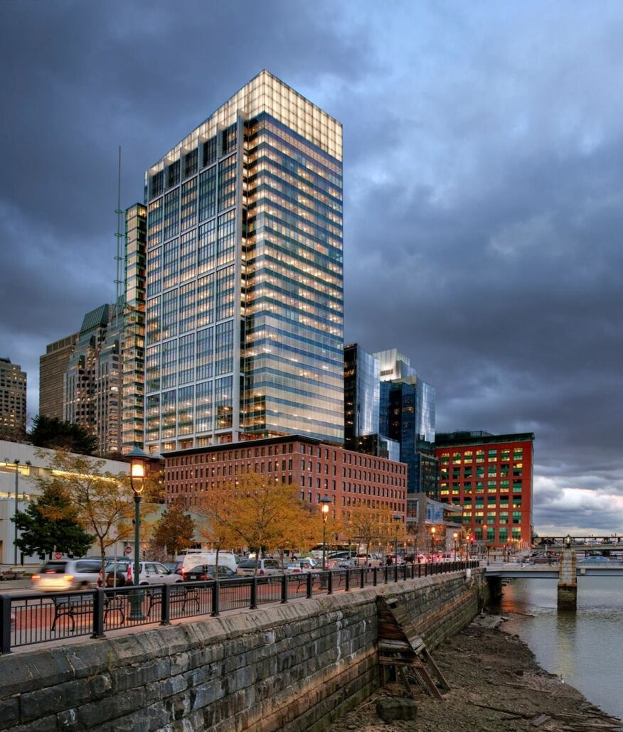 Atlantic Wharf, Boston.