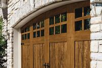 Steel/Polymer Garage Doors With Realistic Wood Look