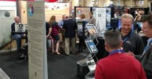 Networking activities at NSC Booth during StonExpo 2015, Las Vegas. The event also included the inauguration of new NSC leadership and a review of 2014 highlight accomplishments.