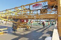 Terex Corp. + Bid-Well 4800 Bridge Paver