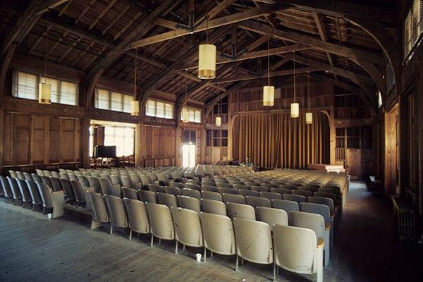 YWCA Asilomar, Grace H. Dodge Chapel, interior.