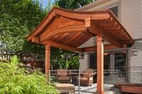 An Arts & Crafts Porch