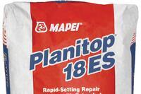 MAPEI + Planitop 18 ES cementitious repair mortar