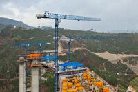 New 21LC335 Flat-top Crane