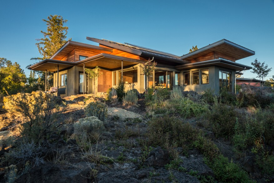 The greenest house of them all according to the living for Leed certified house