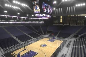 The new arena for the Sacramento Kings will include 700 pieces of precast concrete and more than 1,000 concrete steps.
