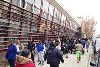 Hundreds Line Up for a Chance at an Apartment