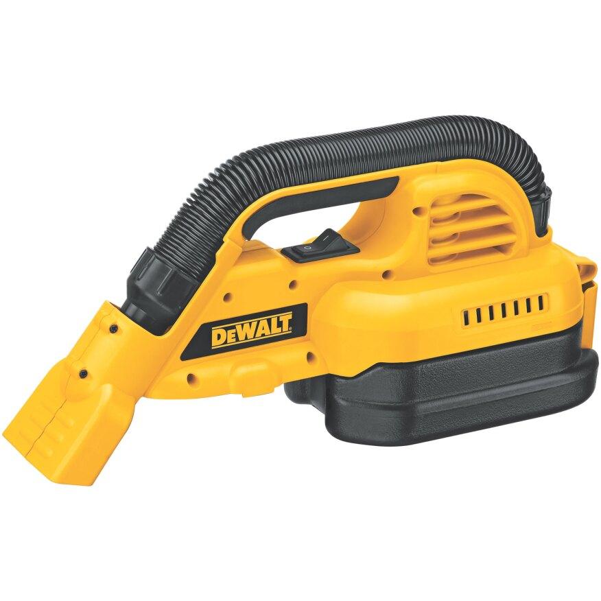 Portable wet-dry hand vacuum, DeWalt