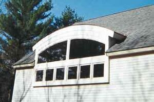 Framing a Barrel-Vault Dormer