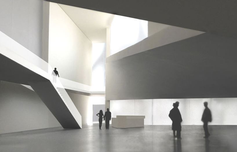 John F. Kennedy Center Extension, Steven Holl Architects