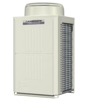 The new Y- and R2-Series outdoor units from Mitsubishi Electric are designed to be more flexible, smaller, and easier to maintain than previous HVAC units. Both are shorter and narrower than previous models to facilitate installation, are enclosed in metal panels to minimize noise pollution, and feature piping connections and a control box located at eye level to make maintenance easier. The modules come in sizes from 6 to 10 tons, can be combined to form a system up to 30 tons, and use the company's Variable Refrigerant Zoning System to control as many as 50 separate zones.  mehvac.com