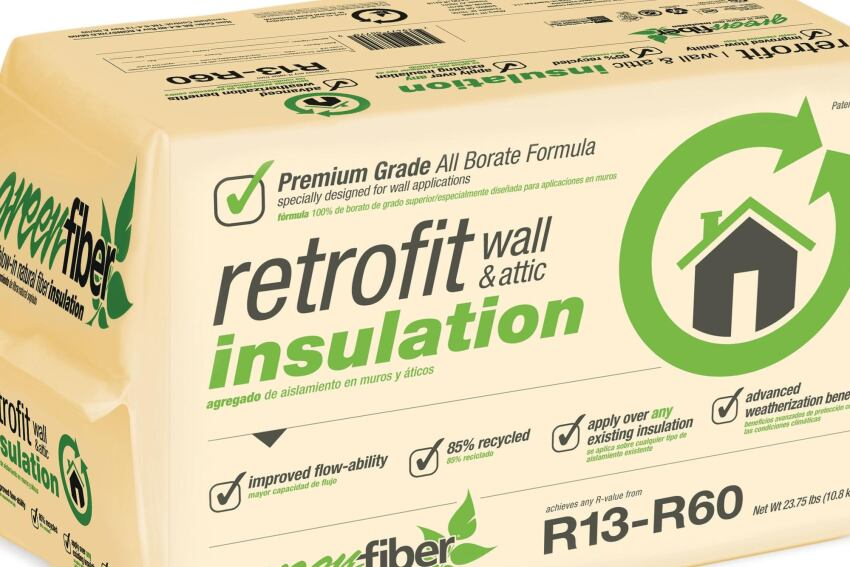 GreenFiber Retrofit Insulation