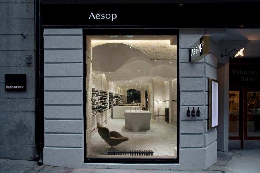 Snøhetta Designs the Hundredth Aesop Retail Space