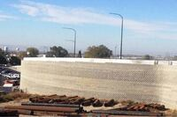 Runner-Up: SR 193, UPRR Overpass Retaining Wall
