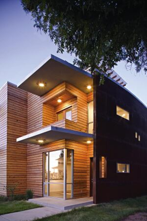 Project: Tulsa Loft, Okla. Size: Two 1,806-square-foot townhomes