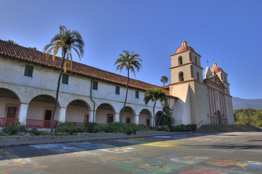 Santa Barbara Mission, Santa Barbara, Calif.