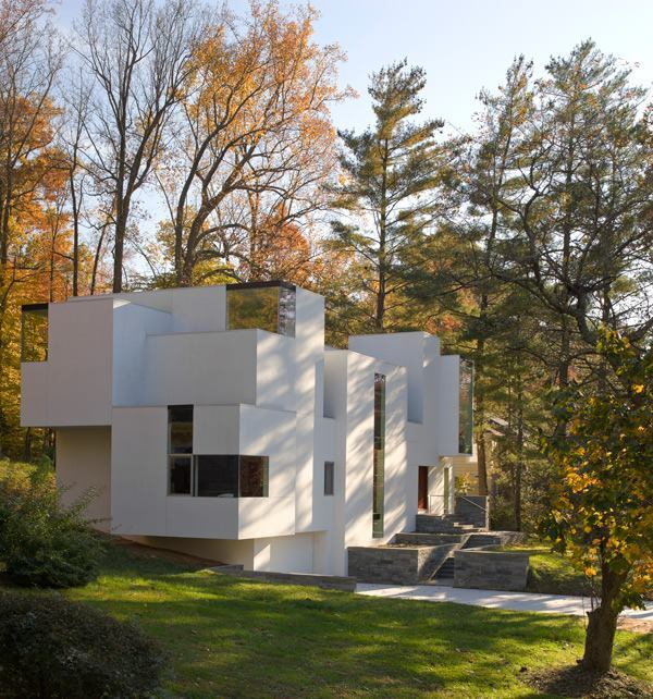 NaCl House, designed by David Jameson Architect.