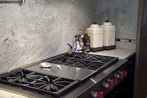 Rough Stuff: New Twist on Granite Countertops Uses the Underside of the Slab