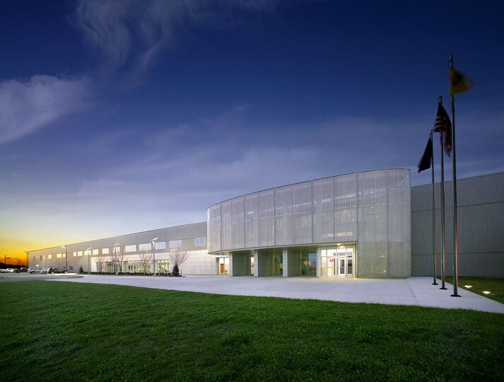 mercedes benz parts distribution center architect