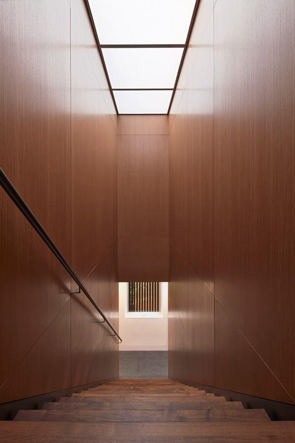 Interior stair.