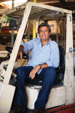 Matt Plaskoff, winner of the Fred Case Award and owner of Plaskoff Construction and One Week Bath.In the remodeling business since 1988, Plaskoff is now poised to redefine bathroom remodeling.