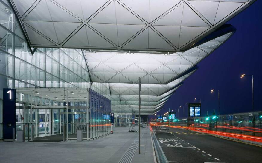 Chek Lap Kok (Hong Kong International) Airport, by Foster + Partners