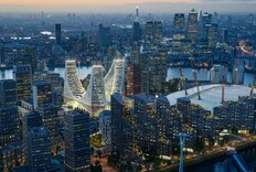 Santiago Calatrava Releases Designs for Peninsula Place in London