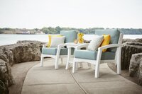 Island-Inspired Bay Breeze Coastal Collection Furniture from C.R. Plastic Products