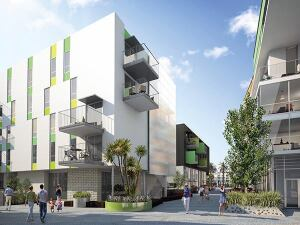 Related California is using tax-exempt bonds and nearly $34 million in LIHTC equity to construct the 160 affordable units within the mixed-income, mixeduse Village at Santa Monica, which broke ground in February.