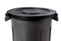 Commercial-grade waste containers