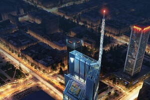 Foster + Partners Begin Constructing the Varso Tower