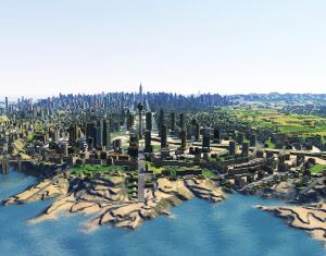 Object  Cities XL, the massively ambitious, massively multiplayer city-building strategy game, is sort of Robert Moses meets World of Warcraft. Developed by Monte Cristo, the game, with its click-and-drag interface, will be familiar to SimCity fansóbut itís no rehash of Will Wrightís revered franchise. Cities XL allows virtual mayors to interact with one another online, and when you arenít playing, youíll be able to keep tabs on your city via a website. Cities XL will be released on Oct. 8 in the European Union, Australia, New Zealand, and the Pacific islands, with an as-yet-unannounced North American release to follow.  citiesxl.com