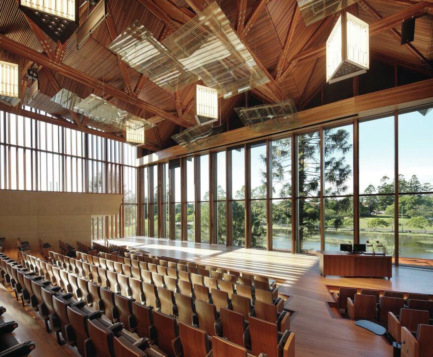 The Auditorium At The University Of Queensland Architect