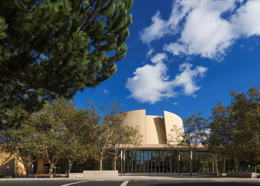 Bing Concert Hall, Stanford University, Palo Alto, Calif., by Ennead Architects.