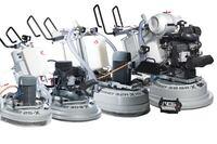 Floor grinding and polishing machines