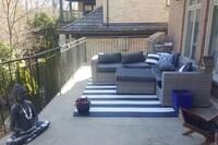 IPE Deck Over Concrete Balcony