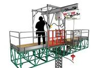 Work Platform-Hoisting Combination