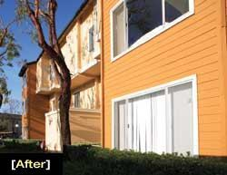 To add more cultural appeal, BRE Properties spiced up the exterior color of Villa Santana in Santa Ana, Calif.