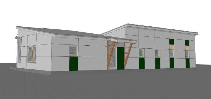 2015 Greenbuild Unity Home rendering