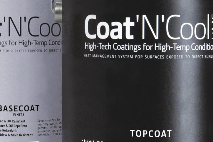 Coat 'N' Cool Architectural Coating