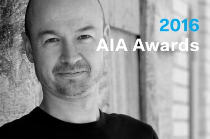 2016 AIA Thomas Jefferson Award: Hans Butzer