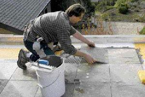 Building a Slate-Tile Deck