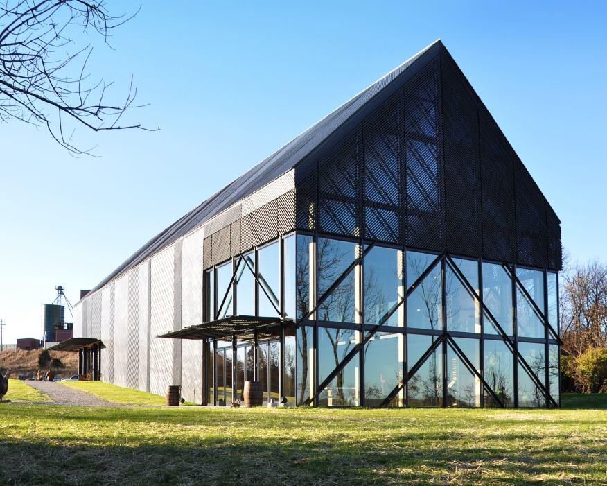Wild Turkey Bourbon Visitor Center.