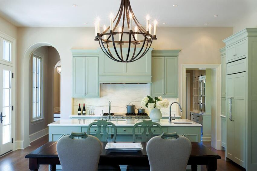 A Furniture-Style Kitchen in Washington, D.C.