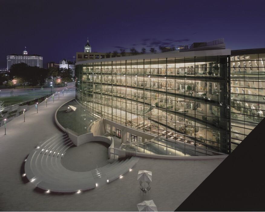 Salt Lake City Public Library in Utah