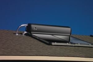 Experts predict that solar water heating will be hot this year, and pre-packaged systems make the units easy for contractors to install, such as  Rheem's SRCC-labeled Solaraide passive solar water heating system that operates without pumps or controllers.
