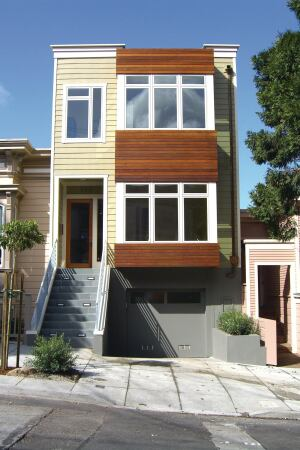 Run of the Re-mill This Noe Valley, San Francisco home incorporates a strong salvage, reuse, and recycling strategy.