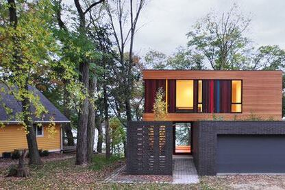architecture design homes. Redaction House  Johnsen Schmaling Architects 2014 Residential Architect Design Awards